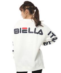 FILA(フィラ)の【FILA/フィラ】ワンポイントロゴ / 起毛ビッグシルエットスウェット / バックプリント(スウェット)