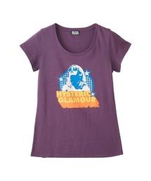 SHADES WOMAN Tシャツパープル