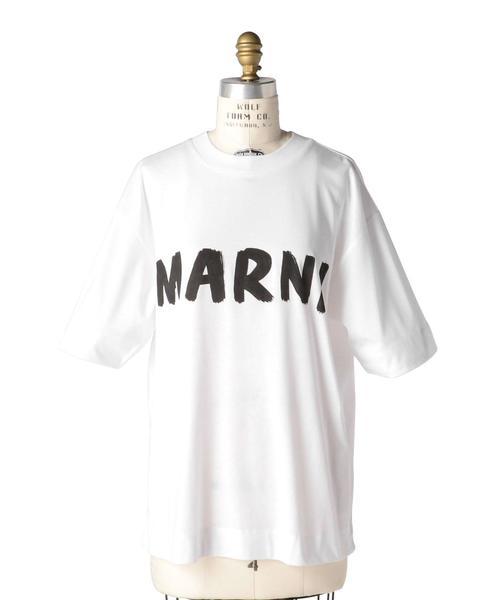 〈MARNI(マルニ)〉LOGO T-SHT