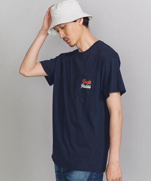 <UNCLE PAULIES(アンクルポーリーズ)> STAFF Navy/Tシャツ