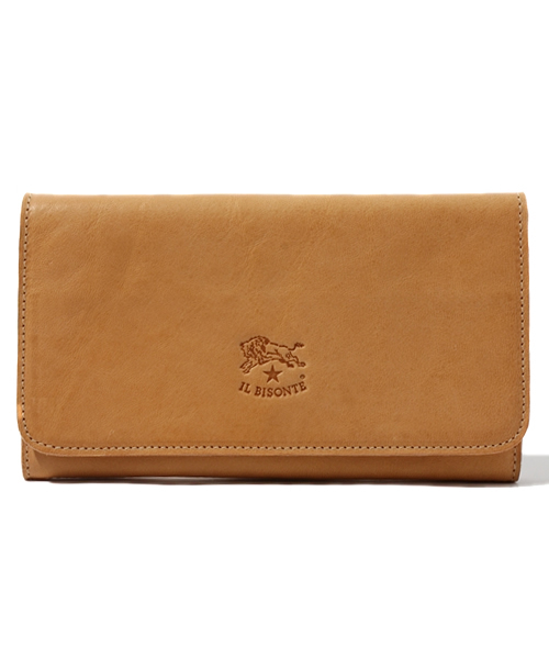 IL BISONTE(イルビゾンテ)の「IL BISONTE / ORIGINAL LEATHER / LONG WALLET(財布)」|ナチュラル