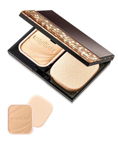 MAQuillAGE(マキアージュ)の「マキアージュ ドラマティックパウダリー UV ベージュオークル20 (レフィル) 黄味よりで自然な肌色(メイクアップ)」 ベージュ
