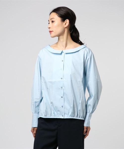 最安値に挑戦! low collar shirts(シャツ/ブラウス)|ability(アビリティ)のファッション通販, 横濱スカーフ工房:00743730 --- skoda-tmn.ru