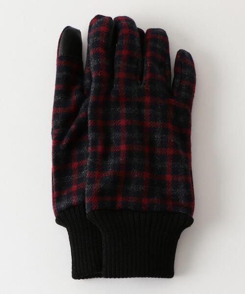 SC GLR ガンクラブチェック リブ グローブ / 手袋
