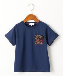 【キッズ】チェリーポケットTシャツ