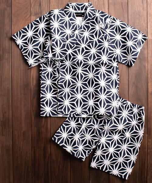 ARCHIVER(アーカイバ)の「【k4】キッズ・デザイン甚平(着物/浴衣)」|ブルー系その他2