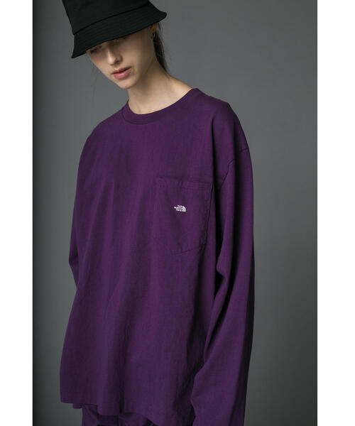 <THE NORTH FACE PURPLE LABEL> EX for monkey time LS T-SHIRT/Tシャツ □□