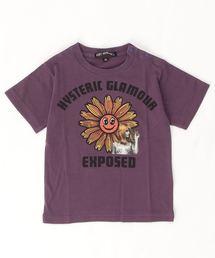 FLOWER POWER Tシャツ【XS/S/M】パープル