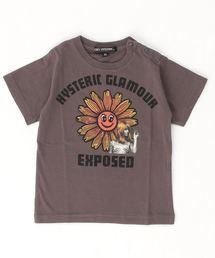 FLOWER POWER Tシャツ【XS/S/M】チャコール