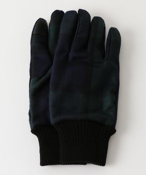 SC GLR ブラックウオッチ リブ グローブ / 手袋