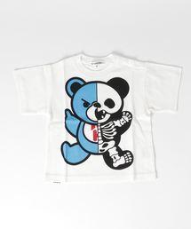 HYS BEAR SKELTON pt Tシャツ【XS/S/M】ホワイト