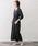 URBAN RESEARCH ROSSO WOMEN(アーバンリサーチ ロッソ)の「カシュクールマキシシャツワンピース(ワンピース)」|詳細画像