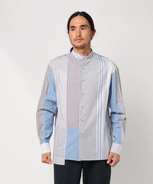 大きな割引 【セール】【 MAISON FLANEUR セール,SALE,STORE】Patchwork FLANEUR Shirt(シャツ PACKING/ブラウス)|BEST PACKING STORE(ベストパッキングストア)のファッション通販, ツルガシマシ:f9cbe0f7 --- fahrservice-fischer.de