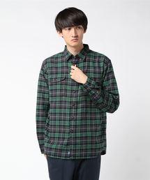 KATO`(カトー)のKATO'/カトー ビエラチェックワークシャツ(シャツ/ブラウス)