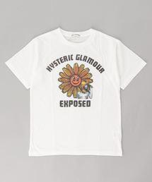 FLOWER POWER Tシャツ【L】アイボリー