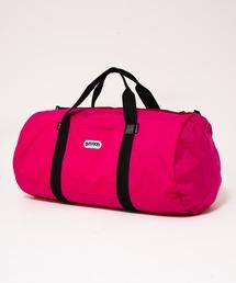 233 GIANT ロールボストンバッグ ブランドロゴ 94.2L コーデュラナイロン仕様ピンク