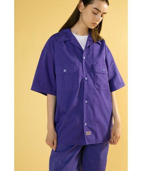 <Dickies × monkey time> SLF/DY WORK SHIRT/ワークシャツ