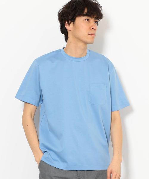 CM ハイゲージポンチ クルーネック Tシャツ ◆