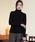 LAUTREAMONT(ロートレ・アモン)の「【WEB別注】洗えるベーシックタートルニット(ニット/セーター)」 ブラック