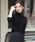 LAUTREAMONT(ロートレ・アモン)の「【WEB別注】洗えるベーシックタートルニット(ニット/セーター)」 詳細画像