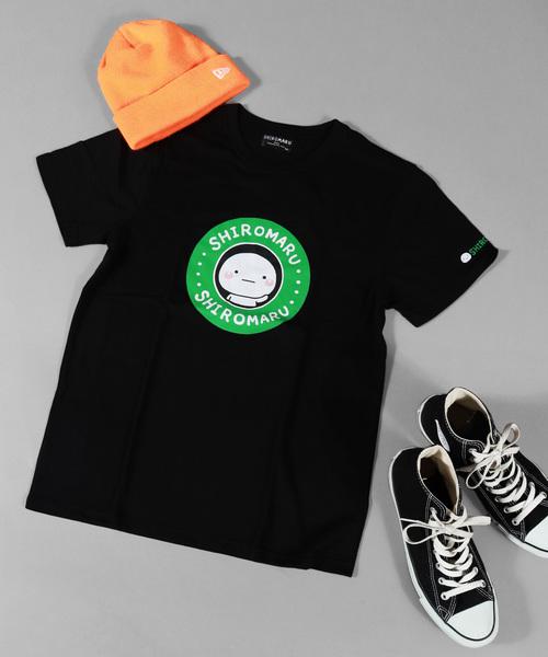 【WEB限定】LINEスタンプ しろまる半袖 Tシャツ