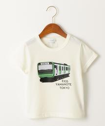 トレインシリーズプリント Tシャツ
