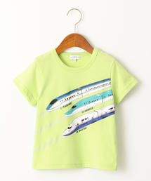 〔吸水速乾〕トレインシリーズプリント Tシャツ