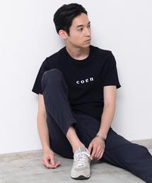 【MENS】coenチビロゴTシャツ