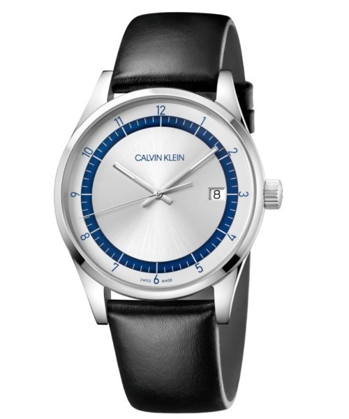 CALVIN KLEIN WATCHES+JEWELRY(カルバン・クライン ウォッチ&ジュエリー)の「【FINEBOYS 時計掲載】[カルバンクライン] CALVIN KLEIN 腕時計 Completion(コンプリーション) 3針  シルバー(アナログ腕時計)」 シルバー