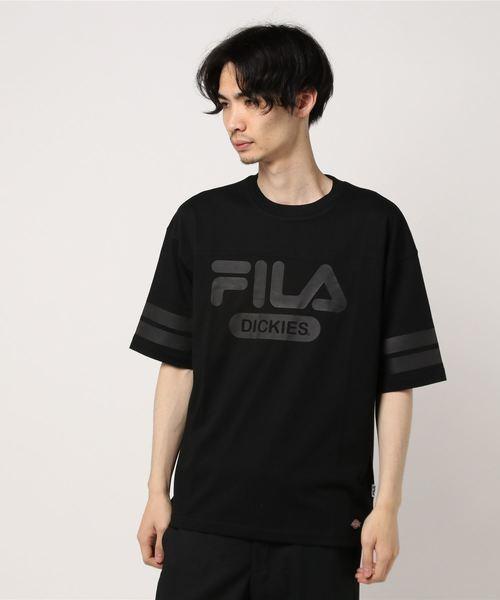 [ FILA ] フットボールTシャツ [ COOLMAX(R) ][ オーバーサイズ ]