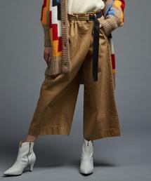 DOUBLE STANDARD CLOTHING(ダブルスタンダードクロージング)のコットンツイルラップパンツ(パンツ)