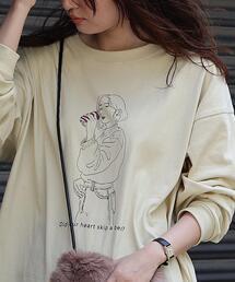 TOMOTERU NISHIMURA HOMME(トモテル ニシムラ オム)×coenプリントロングスリーブTシャツ(プリントT/ロンT)