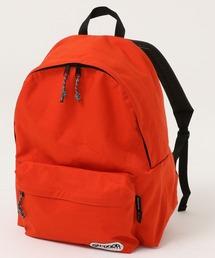 452T LARGE デイパック/バックパック ブランドロゴ 35.0L コーデュラナイロン仕様オレンジ