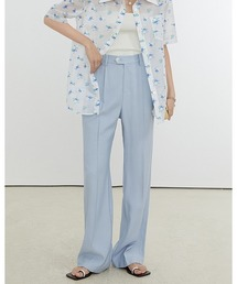 【Fano Studios】【2021SS】Loose straight casual pants FX21K047ライトブルー