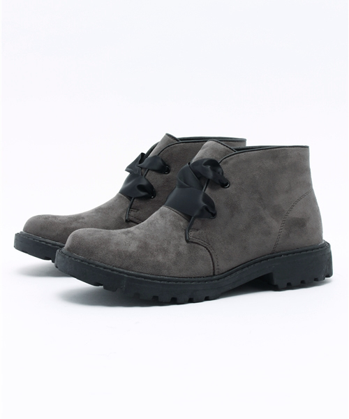LibertyDoll(リバティードール)の「LibertyDoll 5356(ブーツ)」 グレー