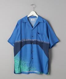 【別注】<Aloha Rug(アロハラグ)> H/Nagai POOL/アロハシャツ