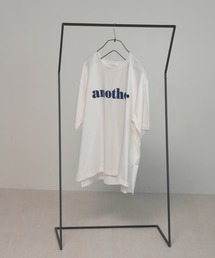 anther logo teeブルー