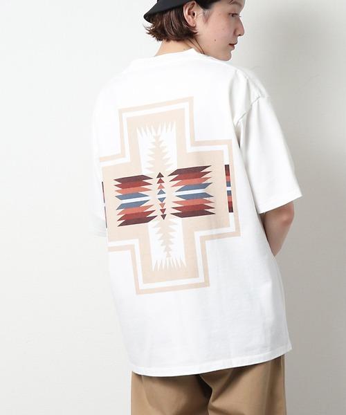 【 PENDLETON / ペンドルトン 】 UNISEX HARDING T-shirt  ハーディング ユニセックス 半袖Tシャツ バックプリント MNY