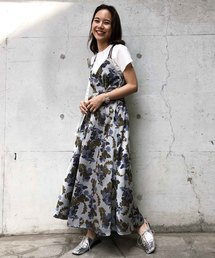 AMERI(アメリヴィンテージ)のBERRY JACQUARD DRESS(ワンピース)