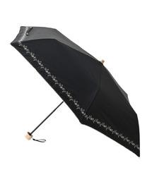 ROPE'(ロペ)の【遮光遮熱機能】晴雨兼用折りたたみアンブレラ(折りたたみ傘)
