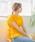select MOCA(セレクトモカ)の「2WAYウエストリボンコットンブレンドペプラム半袖プルオーバー(シャツ/ブラウス)」 詳細画像