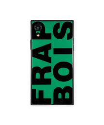 1fbe14938a FRAPBOIS(フラボア)のiPhoneケース FRAPBOIS フラボア 【iPhoneXR】 スクエア型 ガラスケース