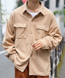 kutir(クティール)のCPOシャツジャケット(フラップポケットシャツジャケット)【youtuberげんじくん紹介商品】(ブルゾン)