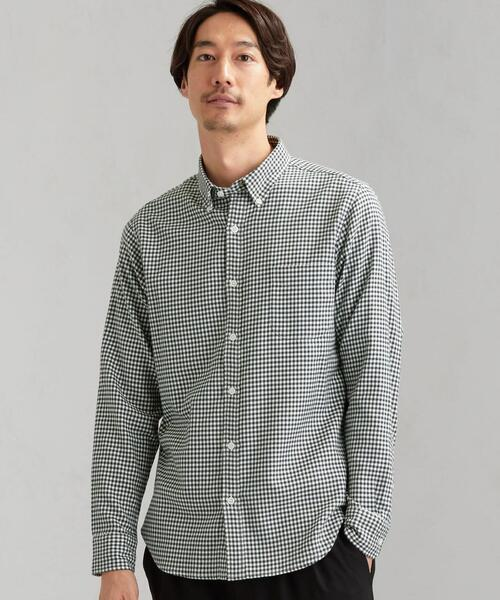 NM ビエラギンガムボタンダウン シャツ