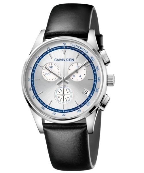 [カルバンクライン] CALVIN KLEIN 腕時計 Completion(コンプリーション) クロノグラフ シルバー
