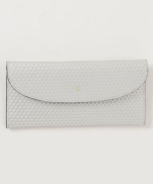 SAZABY(サザビー)の「HSK-02/長財布(財布)」|シルバー