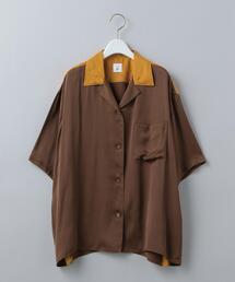 <6(ROKU)>BOWLING SHIRT/シャツ
