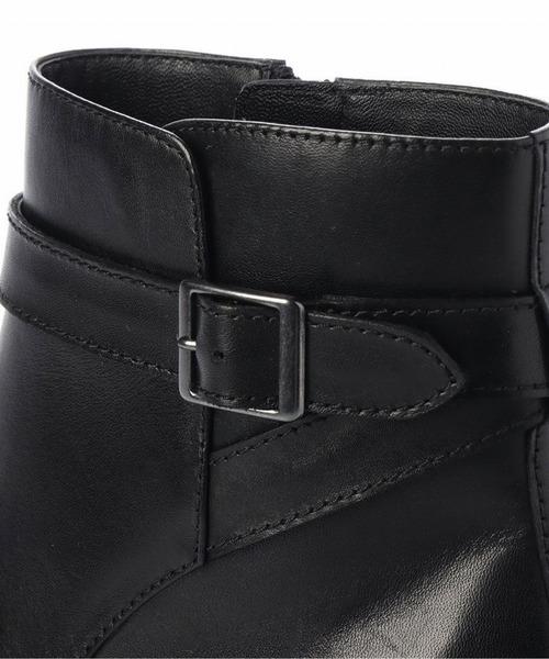 neue diffusion(ノイエディフュージョン)の「ベルト付ショートブーツ/4426大きいサイズ(ブーツ)」|詳細画像