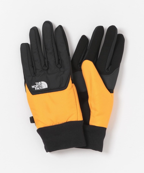 THE NORTH FACE(ザノースフェイス)の「THE NORTH FACE NUPTSE GLOVE(手袋)」|イエロー