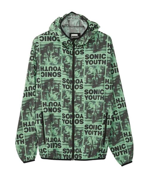 SONIC YOUTH/SONIC LIFE フーデッドブルゾン